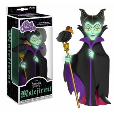 Figurine Disney Rock Candy Maleficent GITD 13cm