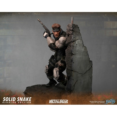 Statue Metal Gear Solid F4F Solid Snake 44cm