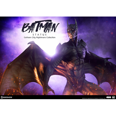 Statuette DC Comics Gotham City Nightmare Collection Batman 50cm