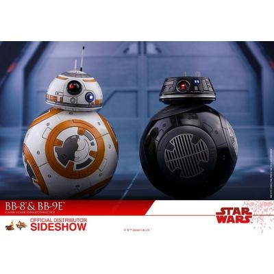 Figurines Star Wars Episode VIII Movie Masterpiece BB-8 & BB-9E 11cm
