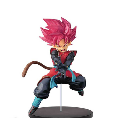 Figurine Super Dragon Ball Heroes Saiyan Male Avatar 12cm