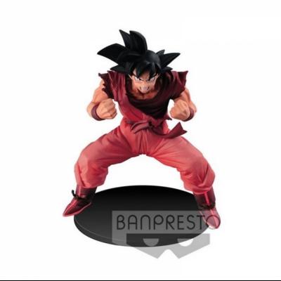 Figurine Dragon Ball Super Son Goku Kaio Ken 14cm