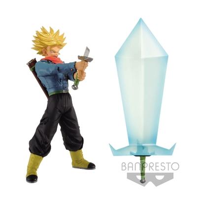 Figurine Dragon Ball Super Trunks Super Saiyan & Blade Of Hope