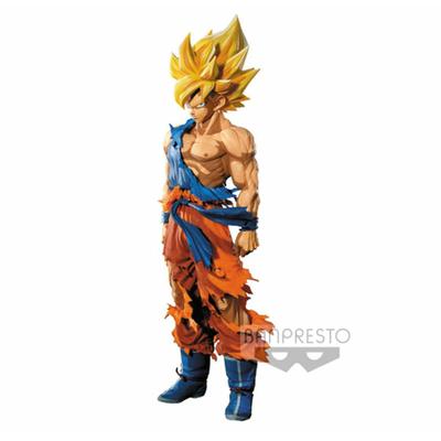 Figurine Dragon Ball Z Master Stars Piece Super Saiyan Goku Manga Dimensions 34cm