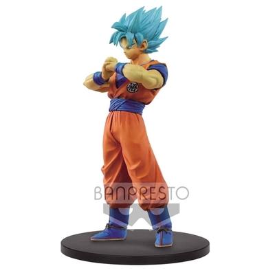 Figurine Dragon Ball Super Warriors SSJ Blue Goku 18cm