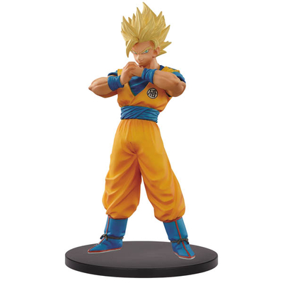 Figurine Dragon Ball Super Warriors SSJ 2 Goku 18cm
