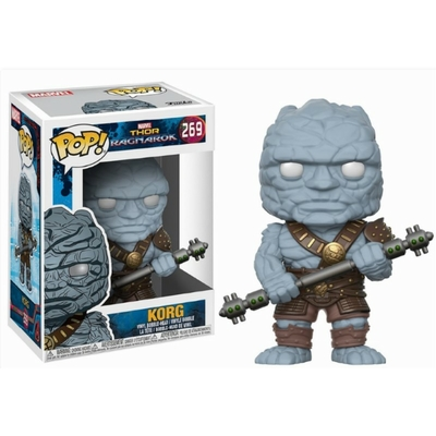Figurine Thor Ragnarok Funko POP! Bobble Head Korg 9cm