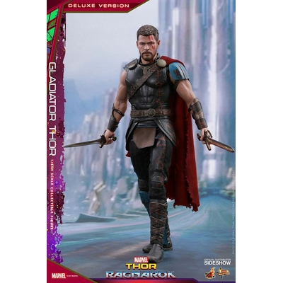 Figurine Thor Ragnarok Movie Masterpiece Gladiator Thor Deluxe Ver. 32cm