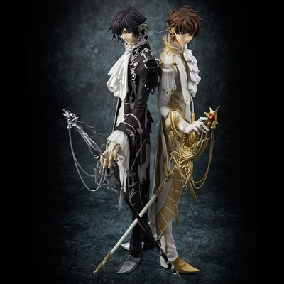 Statuettes Code Geass: Lelouch of the Rebellion Clamp Works in Lelouch & Suzaku 25cm