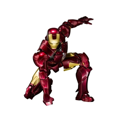 Figurine Iron Man 2 S.H. Figuarts Iron Man Mark IV & Hall of Armor Set 14cm