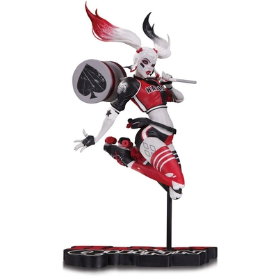Statuette DC Comics Red, White & Black Harley Quinn by Babs Tarr 21cm
