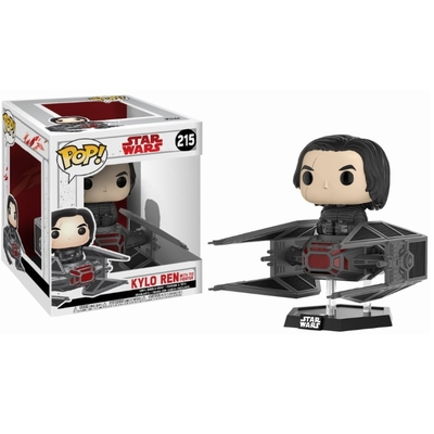 Figurine Star Wars Episode VIII Funko POP! Bobble Head Kylo Ren on Tie Fighter 10cm