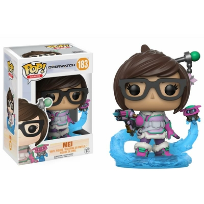 Figurine Overwatch Funko POP! Mei 9cm
