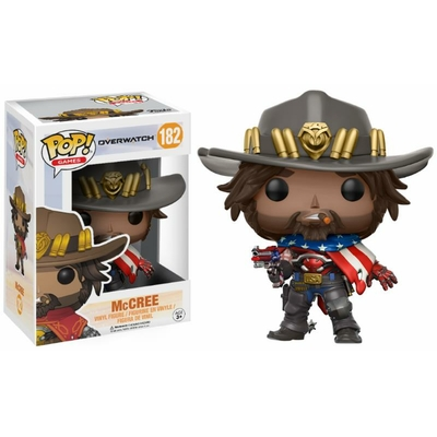 Figurine Overwatch Funko POP! McCree USA 9cm