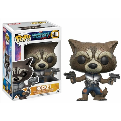 Figurines Les Gardiens de la Galaxie 2 Funko POP! Bobble Head Rocket 9cm