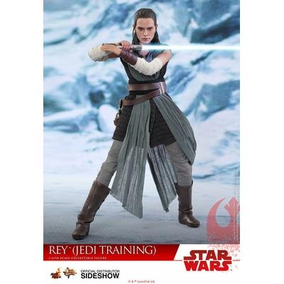 Figurine Star Wars Episode VIII Movie Masterpiece Rey Jedi Training 28cm