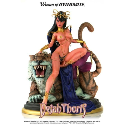 Statuette Women of Dynamite Dejah Thoris by J. Scott Campbell 22cm