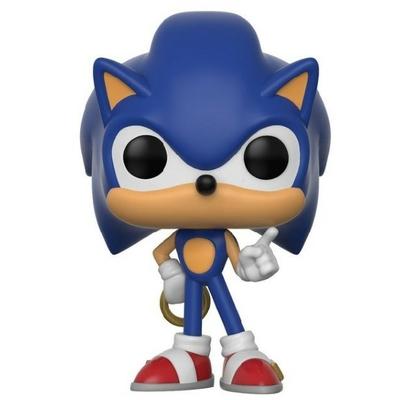 Figurine Sonic The Hedgehog Funko POP! Sonic Ring 9cm