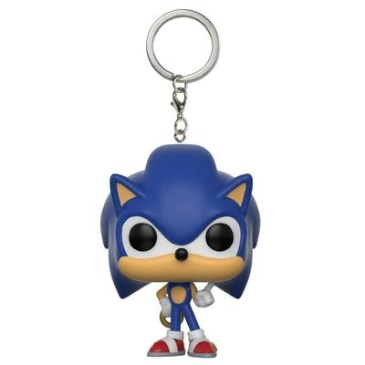 Porte-clés Sonic The Hedgehog Pocket POP! Sonic Ring 4cm