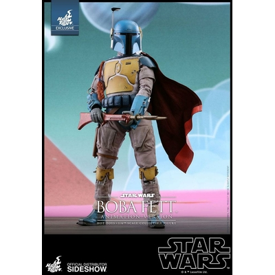 Figurine Star Wars Masterpiece Boba Fett Animation Ver. Sideshow Exclusive 30cm