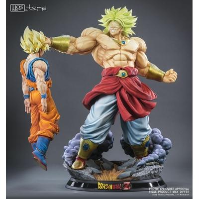 Statue Broly Le super Saiyan Légendaire HQS+ by TSUME 76cm 1001 Figurines 2
