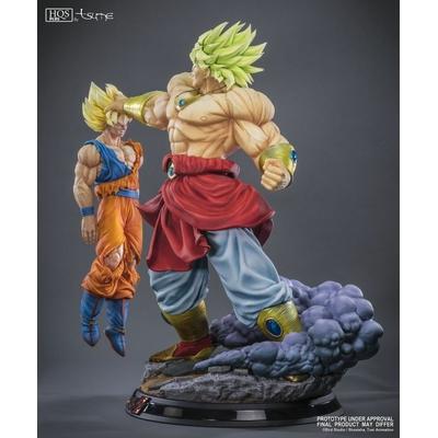 Statue Broly Le super Saiyan Légendaire HQS+ by TSUME 76cm 1001 Figurines 6