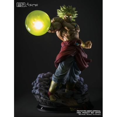 Statue Broly Legendary Super Saiyan King of Destruction ver. HQS+ by TSUME 76cm 1001 Figurines 2
