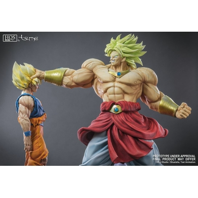 Statue Broly Legendary Super Saiyan King of Destruction ver. HQS+ by TSUME 76cm 1001 Figurines 9