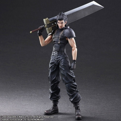 Figurine Crisis Core Final Fantasy VII Play Arts Kai Zack 27cm