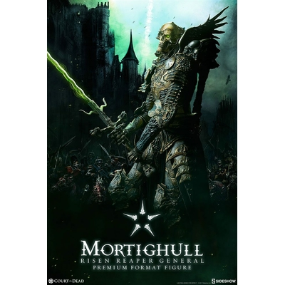 Statue Court of the Dead Premium Format Mortighull Risen Reaper General 67cm