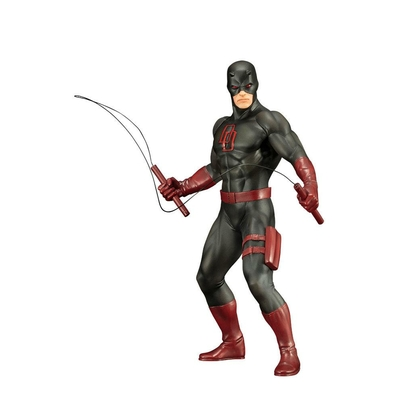 Statuette Marvel's The Defenders ARTFX+ Daredevil Black Suit 19cm