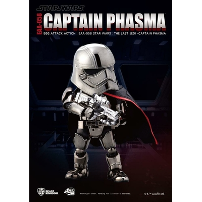 Figurine Star Wars Episode VIII Egg Attack Captain Phasma 16cm