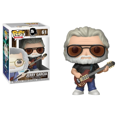 Figurine Jerry Garcia Funko POP! Rocks Jerry Garcia 9cm