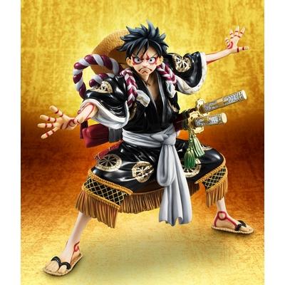 Statuette One Piece Excellent Model P.O.P. Monkey D. Luffy Kabuki Edition Black 21cm