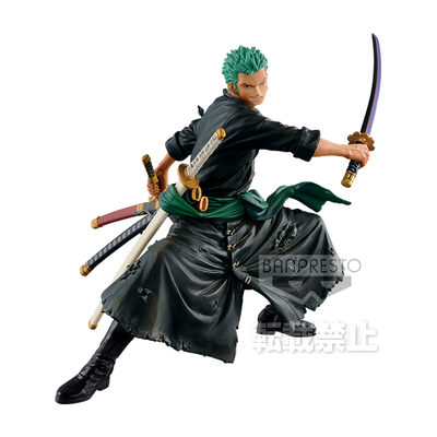 Figurine One Piece Zoukei Monogatari Roronoa Zoro Special Color Ver. 15cm