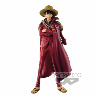 Figurine One Piece King Of Artist Monkey D Luffy 20th Anniversary Design 25cm