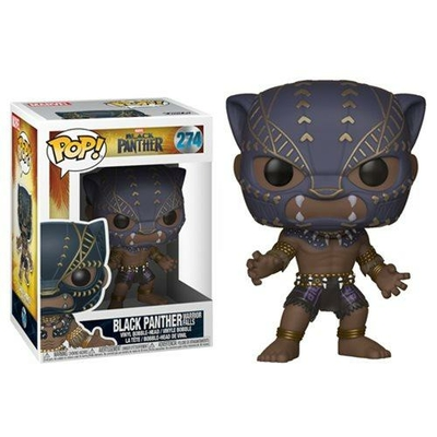 Figurine Black Panther Movie Funko POP! Black Panther Warriors Fall 9cm