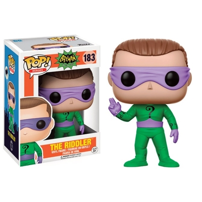 Figurine Batman 1966 Funko POP! Riddler 9cm