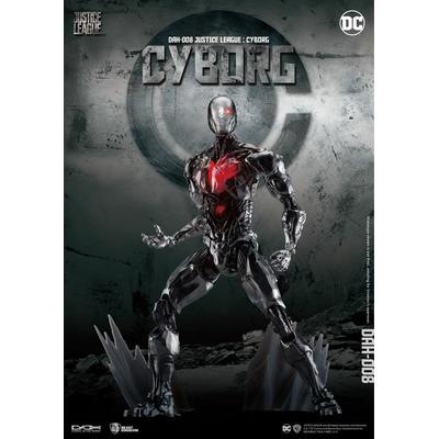 Figurine Justice League Dynamic 8ction Heroes Cyborg 21cm