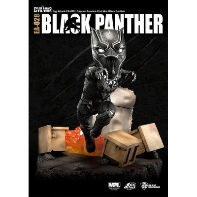 Statuette Captain America Civil War Egg Attack Black Panther 28cm