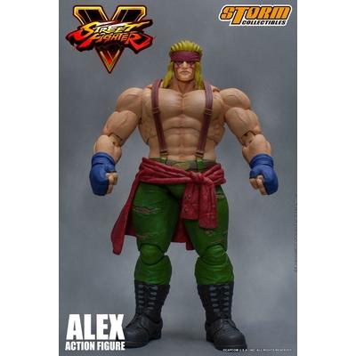 Figurine Street Fighter V Alex 18cm