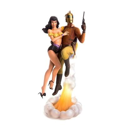 Statue Rocketeer Betty & Rocketeer 34cm