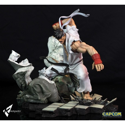 Diorama Street Fighter Battle of the Brothers Ryu 45cm