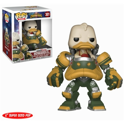 Figurine Marvel Tournoi des champions Funko POP! Super Sized Howard the Duck 15cm