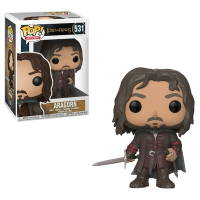Figurine Lord of The Rings Funko POP ! Aragorn 9cm