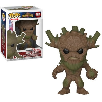Figurine Marvel Tournoi des champions Funko POP! King Groot 9cm