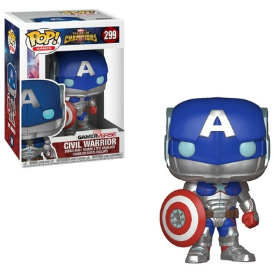 Figurine Marvel Tournoi des champions Funko POP! Civil Warrior 9cm