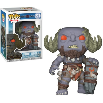 Figurine God of War Funko POP! Fire Troll 9cm