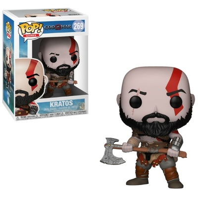 Figurine God of War Funko POP! Kratos 9cm