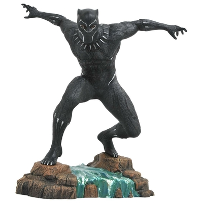 Statuette Black Panther Movie Marvel Gallery Black Panther 23cm